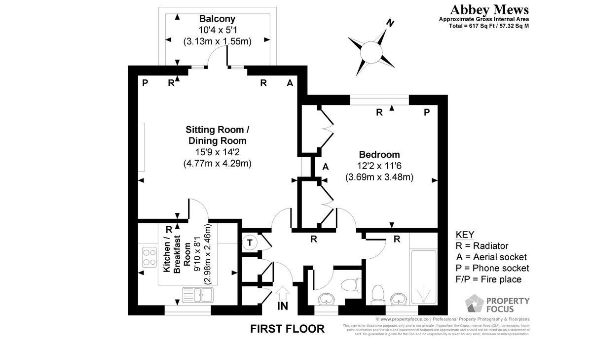 14 Abbey Mew Floor Plan