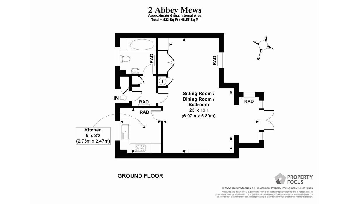 Apartment 2 Floor Plans