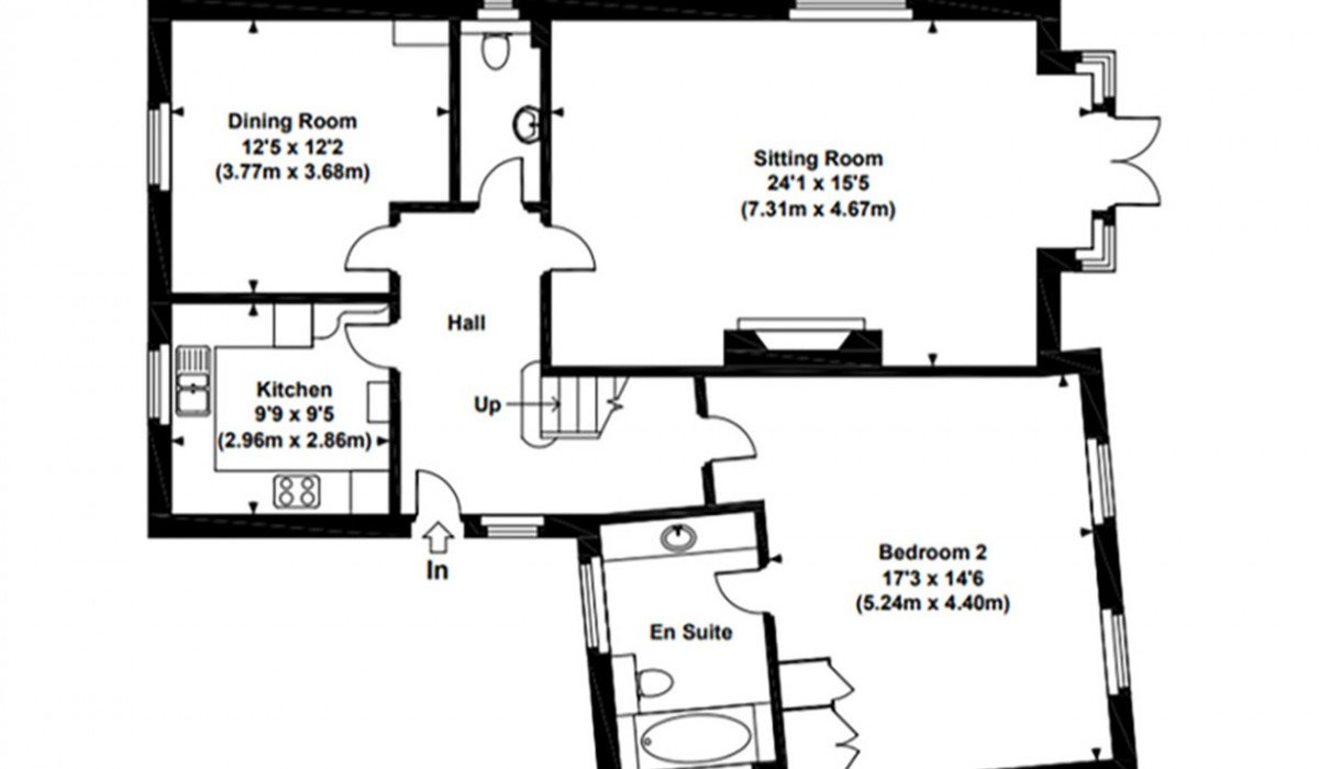 floor plan a Park thatch independent living winchester