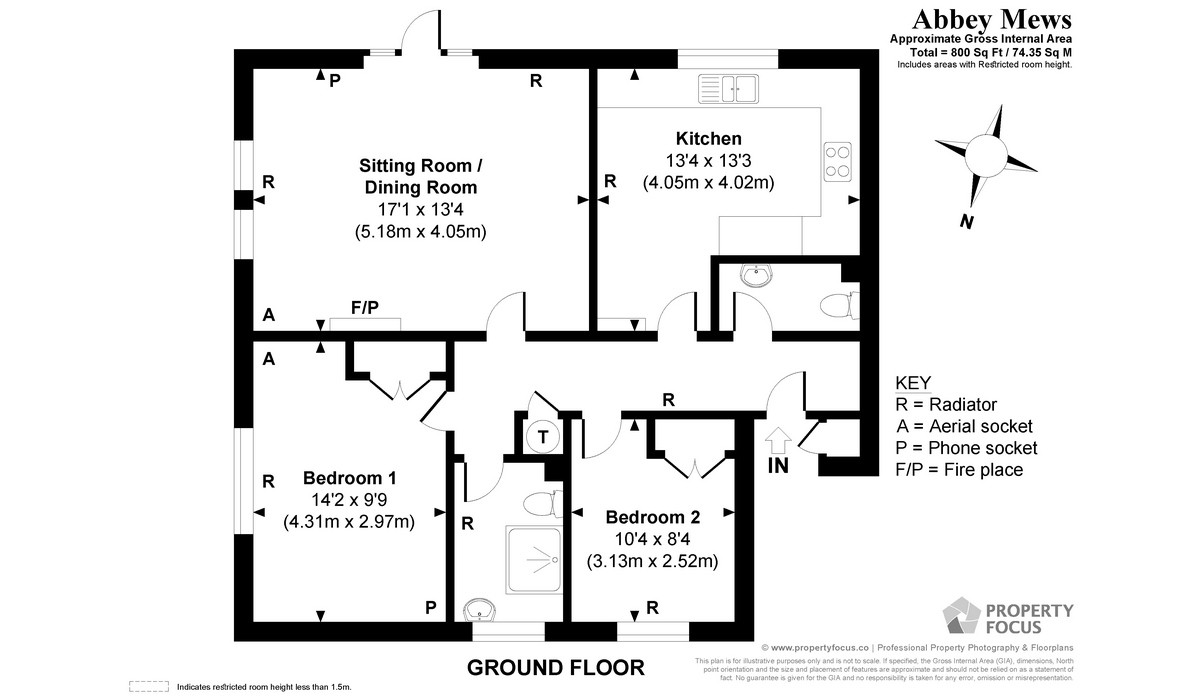 Apartment 9 Floor Plan