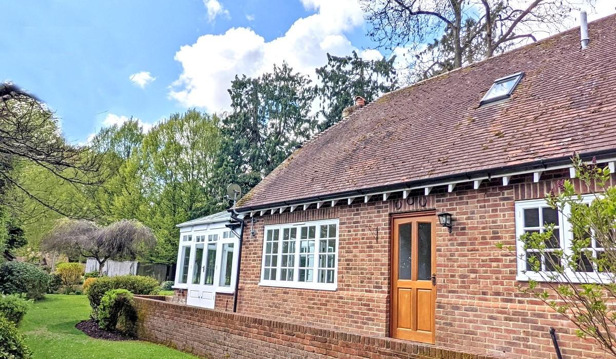 Tamar Cottage Back Garden View