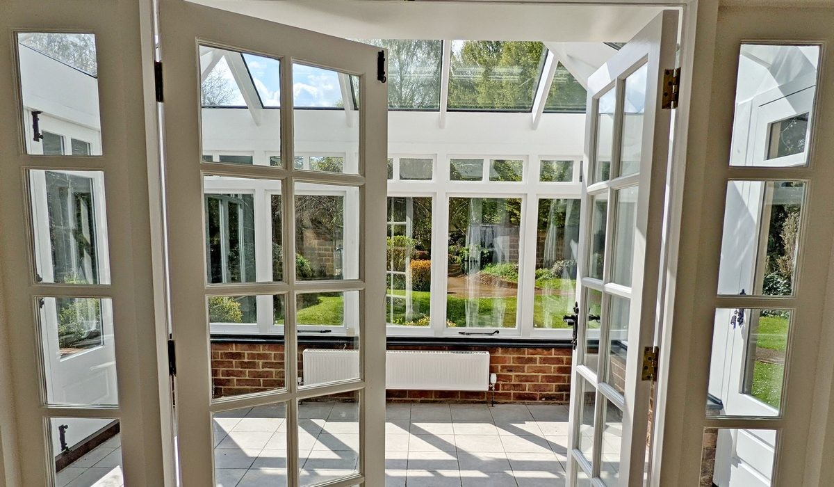 Tamar Cottage Conservatory View