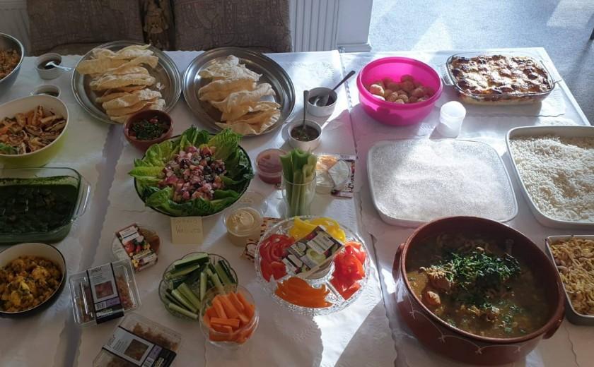 Sutton Manor staff supper
