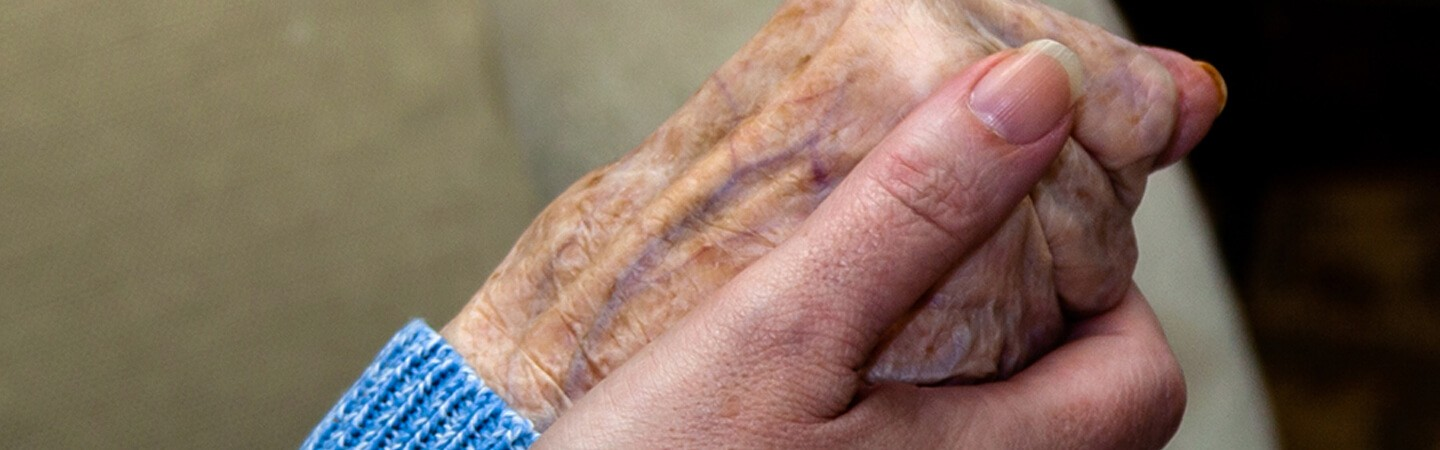 Caring for someone in their last days