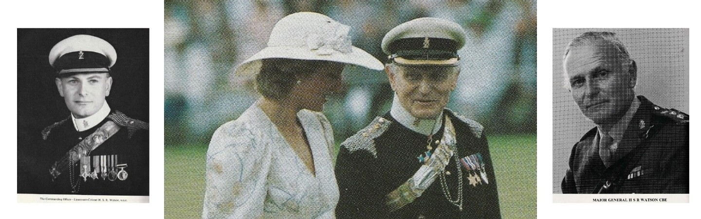 Diana, Princess of Wales and Maj General Stuart Watson